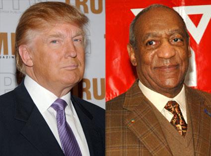 Bill Cosby, Donald Trump