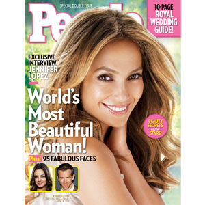 Jennifer Lopez, People Cover