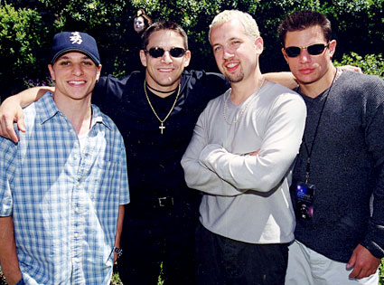 Drew Lachey, Justin Jeffre, Jeff Timmons, Nick Lachey, 98 Degrees