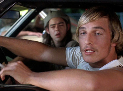 Matthew McConaughe, Dazed and Confused