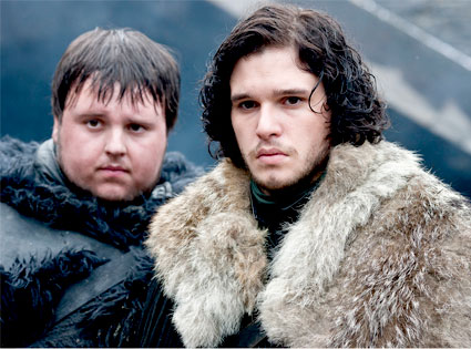 Game of Thrones: John Bradley, Kit Harington