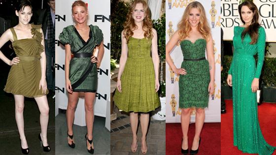 Kristen Stewart, Blake Lively, Nicole Kidman, Scarlett Johansson, Angelina Jolie