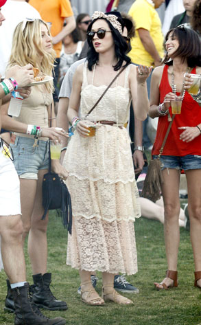 Katy Perry, Coachella Fashion