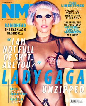 Lady Gaga, NME Cover