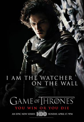 Game of Thrones, Kit Harington, Poster