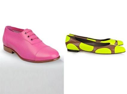 Jil Sander Shoes Lace- Up, Marni Polka-dot Leather Ballerina Flats