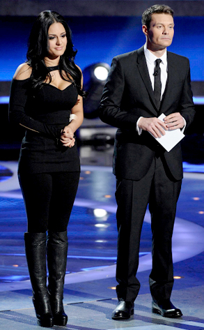 Pia Toscano, Ryan Seacrest