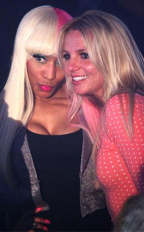 Nicki Minaj, Britney Spears