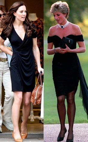The Little Black Dress From Fashion Face Off Kate Middleton Vs