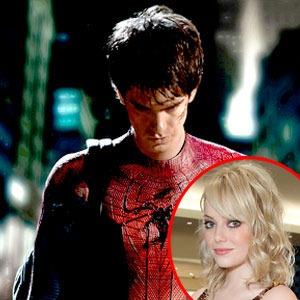 Andrew Garfield, Spiderman, Emma Stone
