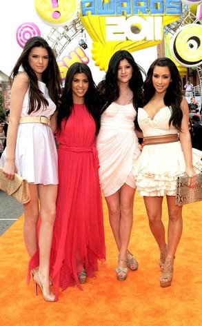 Kendall Jenner, Kourtney Kardashian, Kylie Jenner, Kim Kardashian