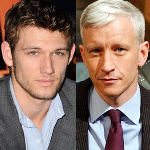 Alex Pettyfer, Anderson Cooper