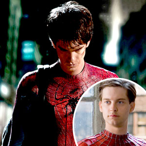 Andrew Garfield, Tobey Maguire, Spiderman
