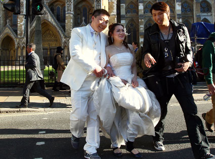 Just Married Couple, Royal Wedding