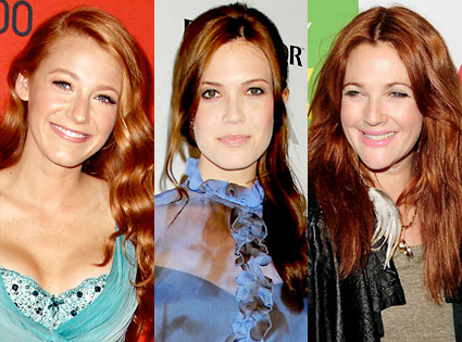 Blake Lively, Mandy Moore, Drew Barrymore