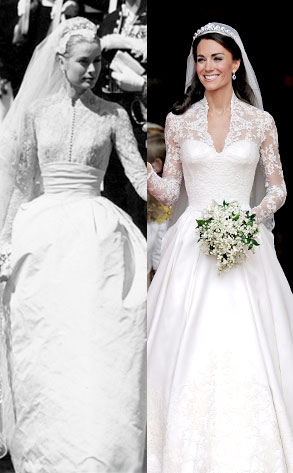 Was Kate Middleton\'s Dress Inspired by Grace Kelly? | E! News