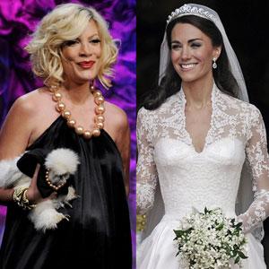 Duchess of Cambridge, Catherine, Kate Middleton, Tori Spelling