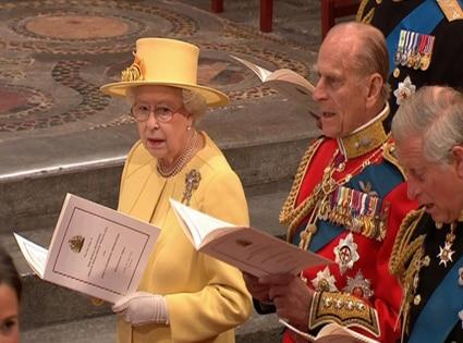 Queen Elizabeth, Phillip, Wedding Ceremony