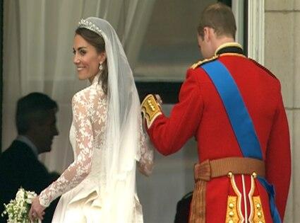Prince William, Kate Middleton, Balcony