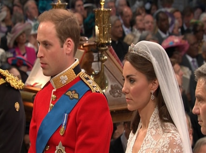 Prince William, Kate Middleton, Wedding Ceremony
