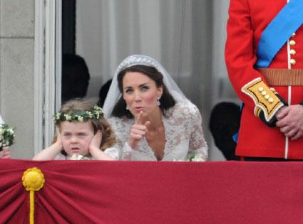 Prince William, Duke of Cambridge, Catherine, Duchess of Cambridge, Lady Louise Windsor, Grace Van Cutsem, Margarita Armstrong-Jones, Tom Pettifer