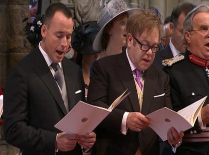 Elton John, David Furnish, Wedding Ceremony