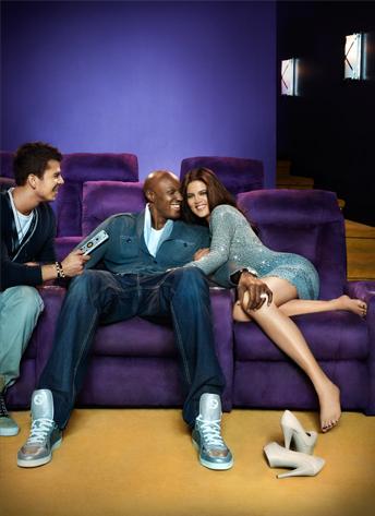 Khloe and Lamar, Khloe Kardashian Odom, Lamar Odom, Robert Kardashian