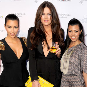 Kim Kardashian, Khloe Kardashian Odom, Kourtney Kardashian