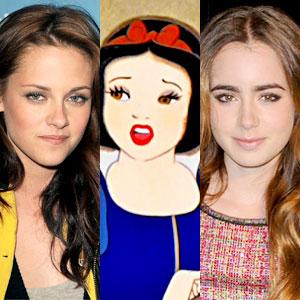 Kristen Stewart, Snow White, Lily Collins