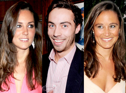 Kate Middleton, James Middleton, Pippa Middleton