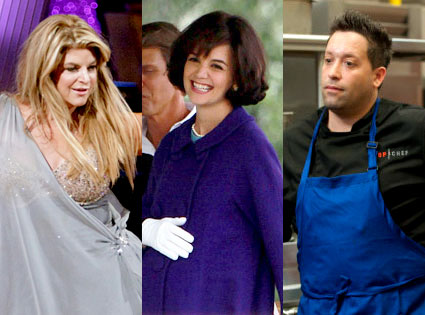 Kirstie Alley, DWTS, Katie Holmes, Kennedys, Mike Isabella, Top Chef