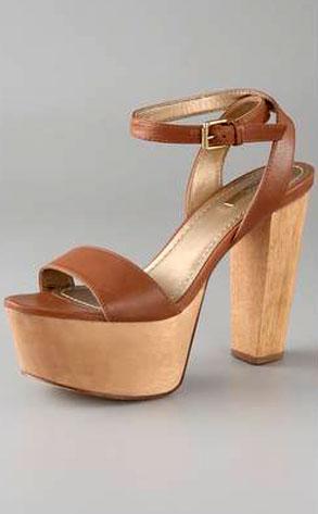 Report Signature Carle Ankle Strap Platform Sandals