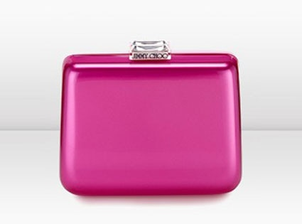 Jimmy Choo Lana Mirror Acrylic Clutch