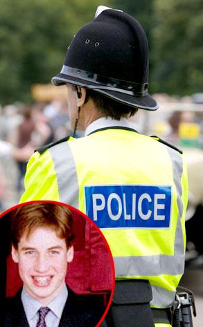 British Police, Prince William