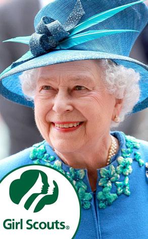 Queen Elizabeth, Girl Scout Logo