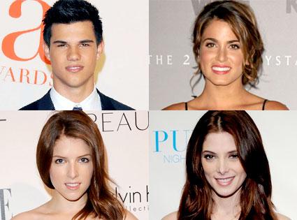 Taylor Lautner, Nikki Reed, Anna Kendrick, Ashley Greene