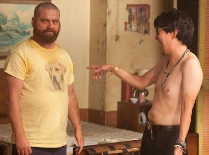 Zac Galifianakis, Ken Jeong, The Hangover 2