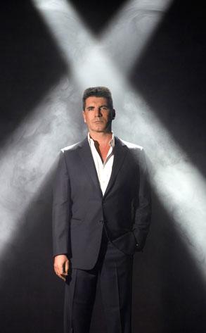 THE X FACTOR, Simon Cowell