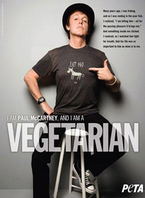 Paul McCartney PETA ad