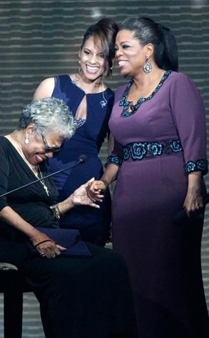Oprah Winfrey, Maya Angelou, Alicia Keys