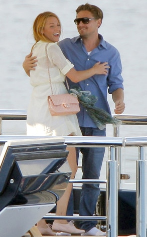 French Kisses From Blake Lively Leonardo Dicaprio Romance Rewind