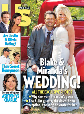 Miranda Lambert, Blake Shelton, US Weekly Cover