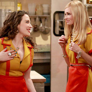2 Broke Girls, Kat Dennings, Beth Behrs