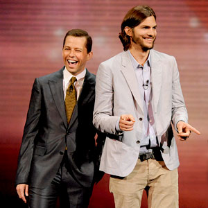 Jon Cryer, Ashton Kutcher