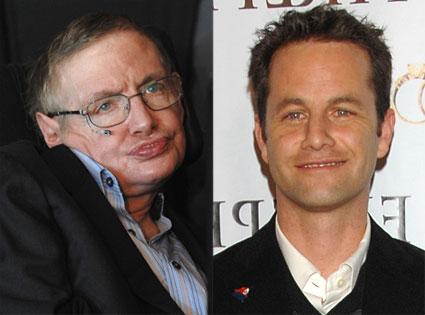 Kirk Cameron, Stephen Hawking