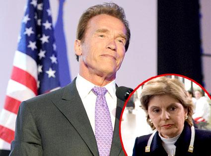 Arnold Schwarzenegger, Gloria Allred