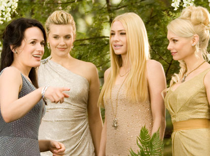 Reaser, Maggie Grace, Casey LaBow, MyAnna Buring, THE TWILIGHT SAGA: BREAKING DAWN