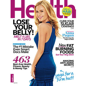 Anna Paquin, Heath Magazine