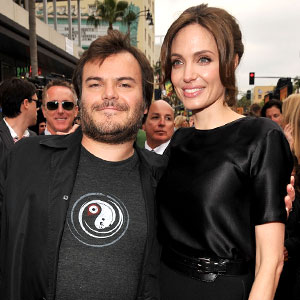 Jack Black, Angelina Jolie