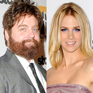 Zach Galifianakis, January Jones